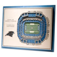 NFL Carolina Panthers 5-Layer Stadium Views 3D Wall Art
