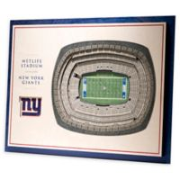 NFL New York Giants 5-Layer Stadium Views 3D Wall Art