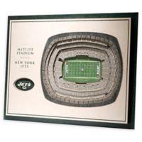 NFL New York Jets 5-Layer Stadium Views 3D Wall Art