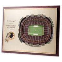 NFL Washington Redskins 5-Layer Stadium Views 3D Wall Art