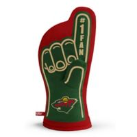 NHL Minnesota Wild #1 Fan Oven Mitt