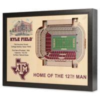 Texas A&M University 25-Layer StadiumViews 3D Wall Art