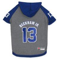 NFL New York Giants Odell Beckham Jr. Medium Pet Hoodie T-Shirt