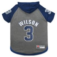 NFL Seattle Seahawks Russell Wilson Small Pet Hoodie T-Shirt