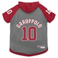 NFL San Francisco 49ers Jimmy Garoppolo Extra Small Pet Hoodie T-Shirt