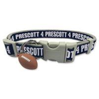 NFL Dallas Cowboys Dak Prescott Large Pet Collar