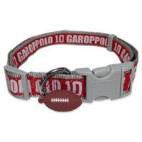 NFL San Francisco 49ers Jimmy Garoppolo Large Pet Collar