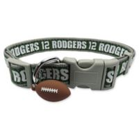 NFL Green Bay Packers Aaron Rodgers Large Pet Collar