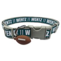 NFL Philadelphia Eagles Carson Wentz Medium Pet Collar