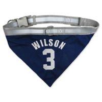 NFL Seattle Seahawks Russell Wilson Medium Reversible Dog Bandana
