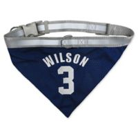 NFL Seattle Seahawks Russell Wilson Small Reversible Dog Bandana
