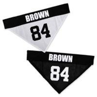 NFL Pittsburgh Steelers Antonio Brown Small/Medium Reversible Dog Bandana