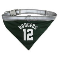 NFL Green Bay Packers Aaron Rodgers Medium Reversible Dog Bandana