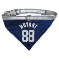 NFL Dallas Cowboys Dez Bryant Large Reversible Dog Bandana