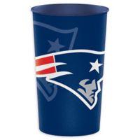 NFL New England Patriots 8-Pack 22 oz. Souvenir Plastic Cups
