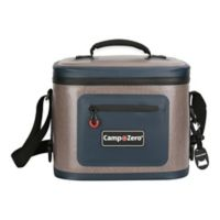 Camp-Zero® 12-Can Soft Sided Cooler in Beige/Blue