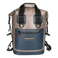 Camp-Zero® 20-Can Carry All Backpack Cooler in Beige/Blue