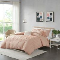 Urban Habitat Paloma King/California King Duvet Cover Set in Blush