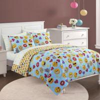 Emoji Pals Bling 5-Piece Twin/Twin XL Comforter Set in Blue