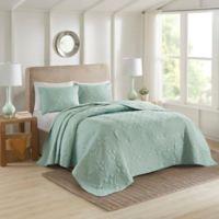 510 Design Oakley King/California King Bedspread Set in Seafoam