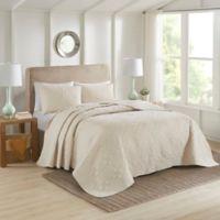510 Design Oakley King/California King Bedspread Set in Cream