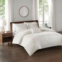 510 Design Natalee 4-Piece Full/Queen Comforter Set in Ivory