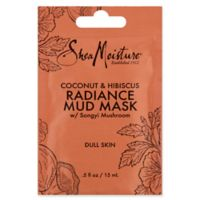 SheaMoisture 6 fl. oz. Coconut and Hibiscus Radiance Mud Mask for Dull Skin