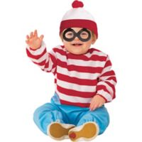Where's Waldo© Child's Size 3T-4T 2-Piece Costume
