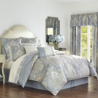 Palermo King Comforter Set in Blue