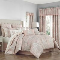 Sloane Queen Comforter Set in Blush