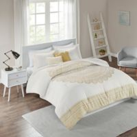 Intelligent Design Nomad Full/Queen Comforter Set in Gold