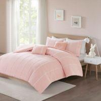 Urban Habitat Kids Ayden 4-Piece Twin/Twin XL Comforter Set in Pink