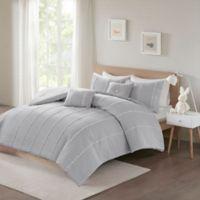 Urban Habitat Kids Ayden 4-Piece Twin/Twin XL Comforter Set in Grey