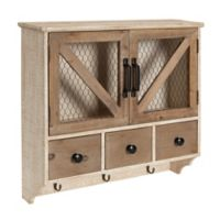 Kate and Laurel Hutchins Wall Storage Cabinet