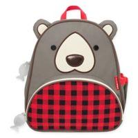 SKIP*HOP® Zoo Winter Bear Backpack in Red