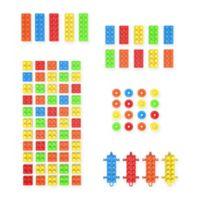 Hey! Play! 90-Piece Building Block Set