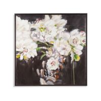 Basset Mirror Company Peonies Canvas Wall Art in White