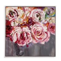 Basset Mirror Company Peonies Canvas Wall Art in Pink