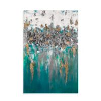 Bassett 40-Inch x 60-Inch Art On the Water Canvas Wall Art