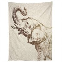 Deny Designs Belle13 The Wisest Elephant Tapestry