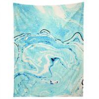 Deny Designs 83 Oranges Ocean Marble Tapestry