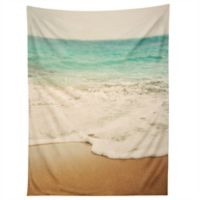 Deny Designs Bree Madden Ombre Beach Tapestry in Blue