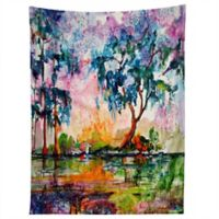 Deny Designs Ginette Fine Art Garden Tapestry in Blue