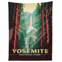 Deny Designs Anderson Design Group Yosemite Tapestry in Black