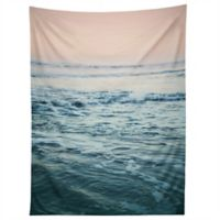 Deny Designs Leah Flores Pacific Ocean Waves Tapestry in Blue