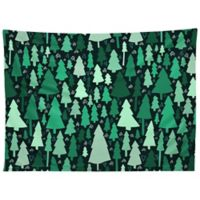 Deny Designs Leah Flores Wild and Woodsy Tapestry in Green