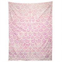 Deny Designs Lisa Argyropoulos Mermaid Tapestry in Pink