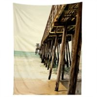 Deny Designs Bree Madden Down By The Pier Tapestry in Brown