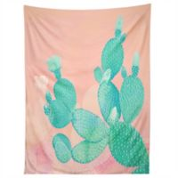Deny Designs Pastel Cactus Tapestry