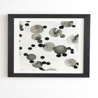 Deny Designs Como Pompas II 14-Inch x 16.5-Inch Framed Wall Art